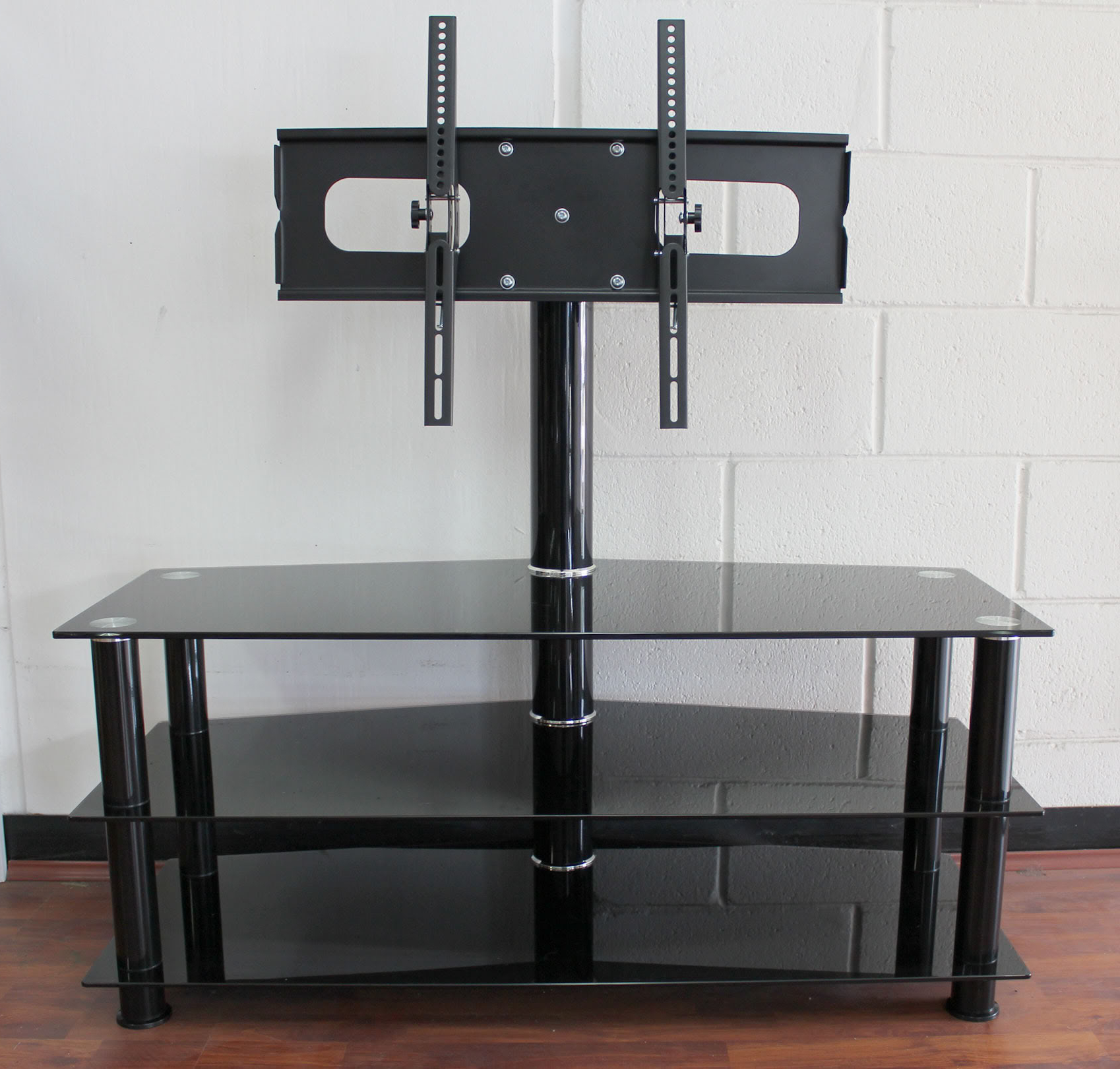 Ceiling Motorized Tv Brackets Stand Assembly Instructions Mount In Most Recently Released Swivel Black Glass Tv Stands (View 4 of 20)