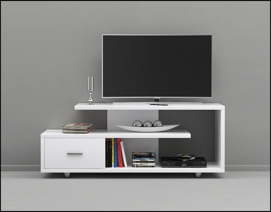 Cgtrader Throughout White Tv Stands (View 2 of 20)