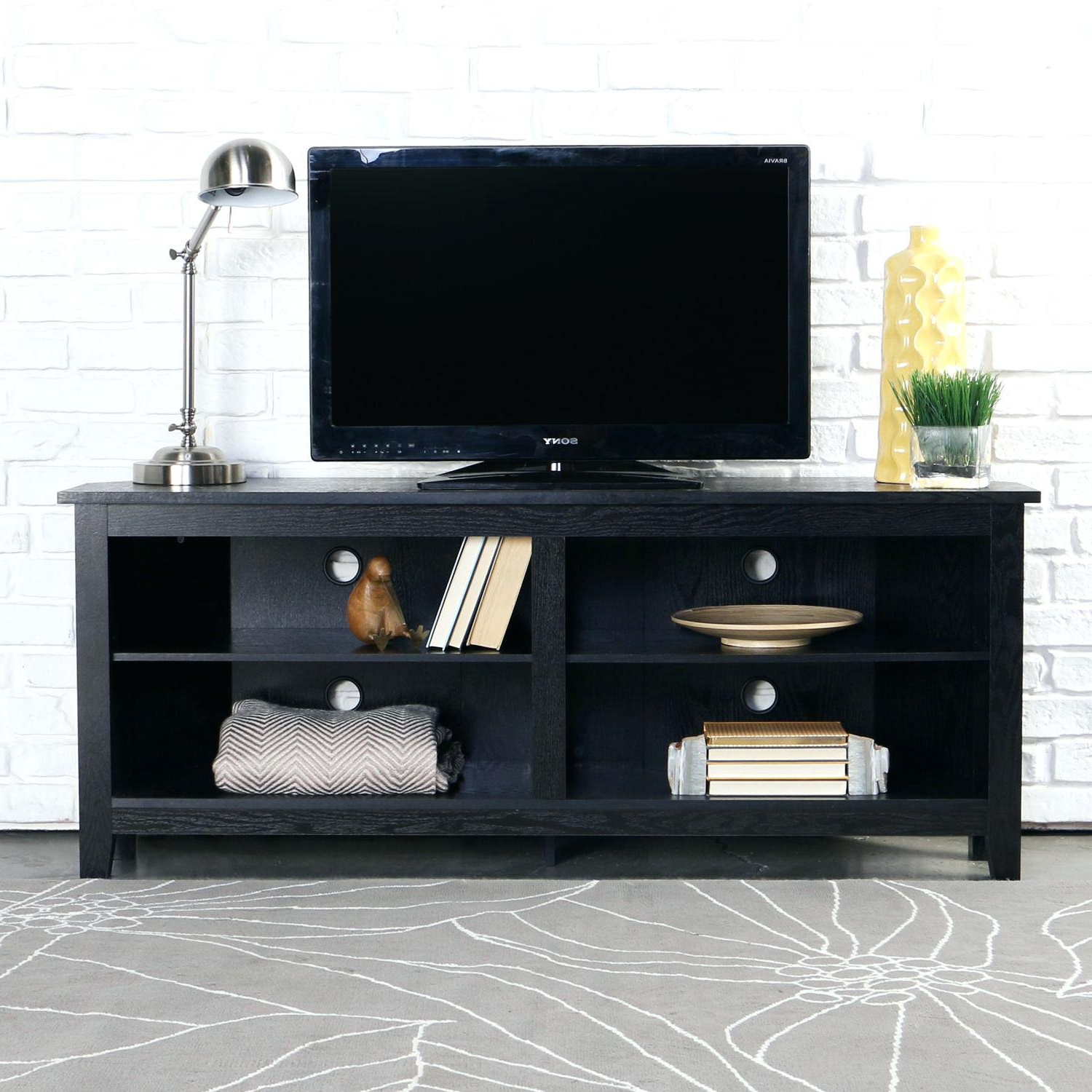 Charming Black Corner Tv Stand Black Corner Tv Stand For Tvs Up To Within Popular Black Corner Tv Stands For Tvs Up To  (View 8 of 20)