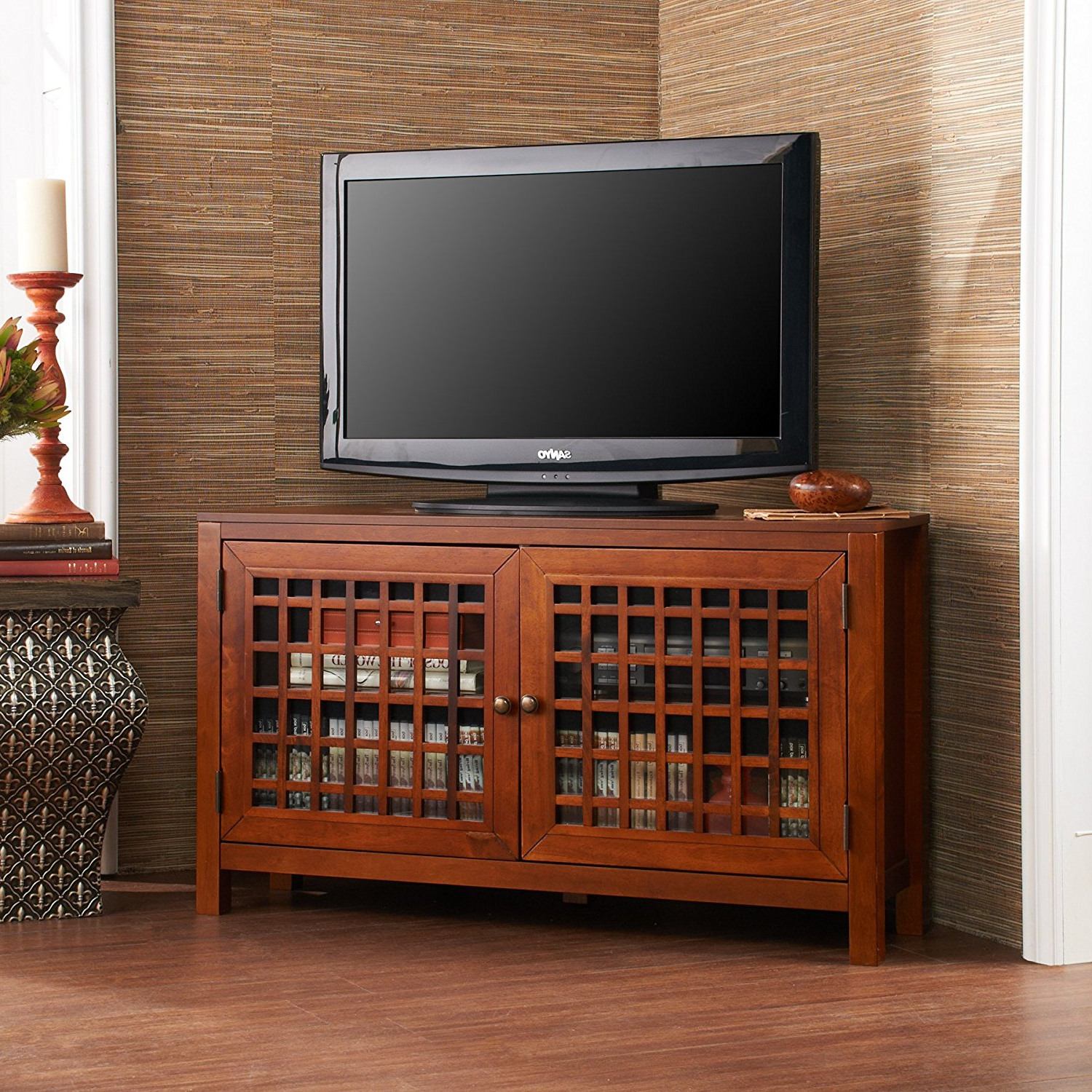 Cheap Corner Tv Stand Walnut, Find Corner Tv Stand Walnut Deals On In Most Recently Released Tv Stands Rounded Corners (View 19 of 20)
