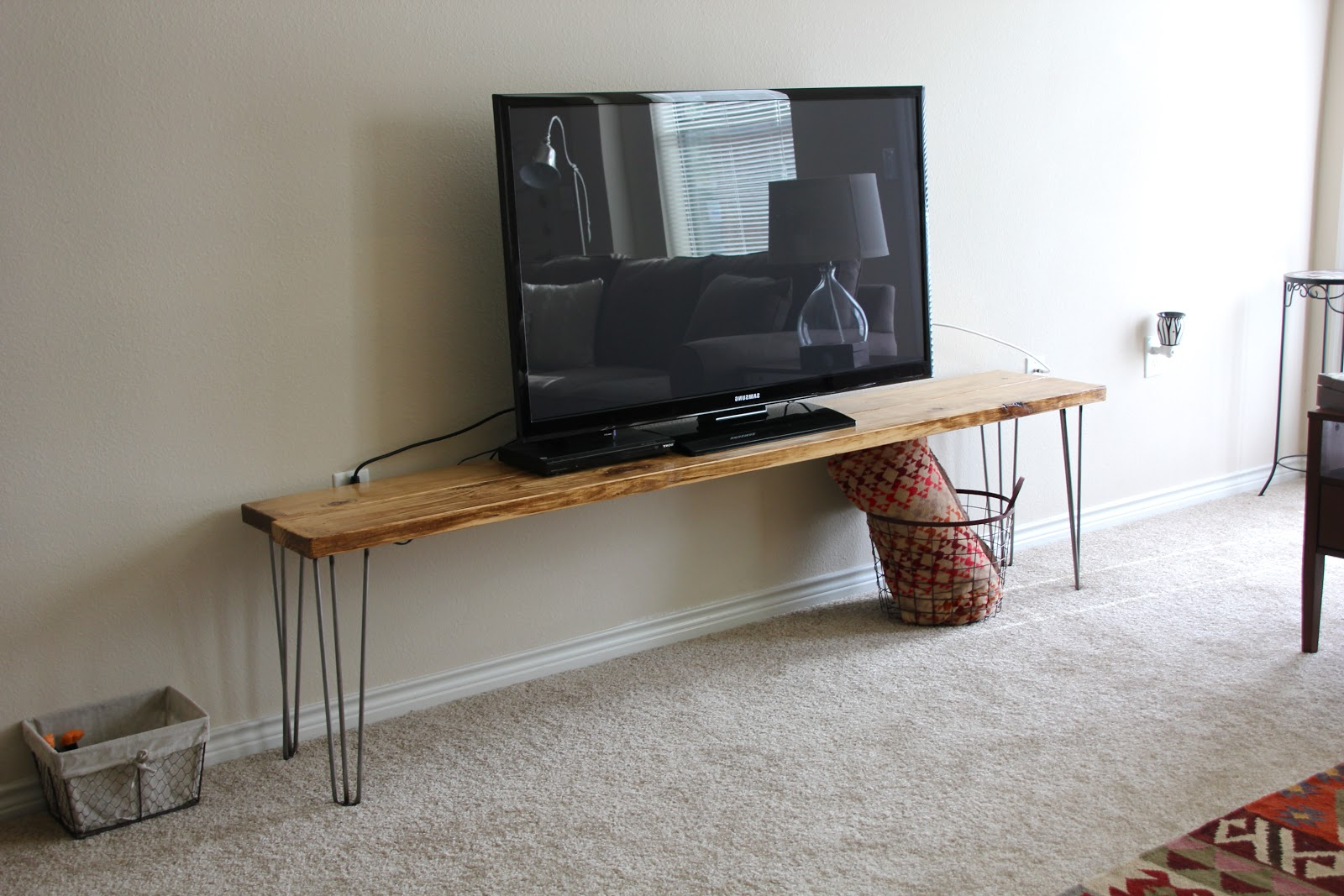 Cheap Tv Table Stands With Regard To Well Known Tv Stand / Bench / Any Table : A Tutorial (View 12 of 20)