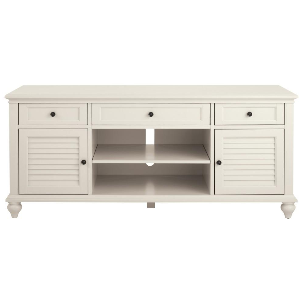 Cheap White Tv Stands Inside Fashionable Home Decorators Collection Hamilton 26 In (View 5 of 20)