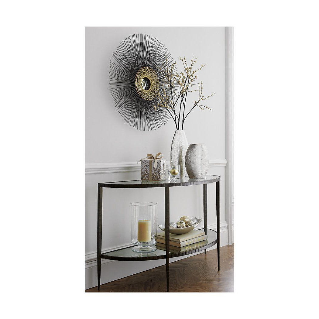 Clairemont Demilune Console Table (View 2 of 20)