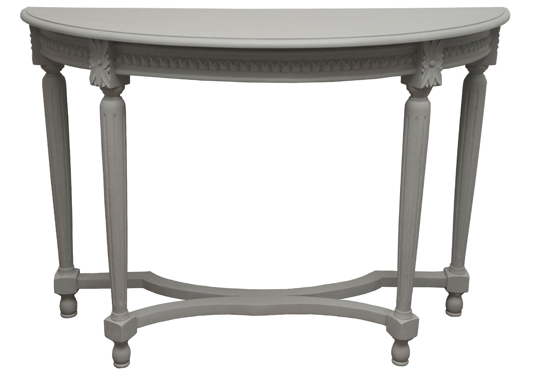 Clairemont Demilune Console Tables Regarding Most Current One Allium Way Vaughan Console Table (View 5 of 20)