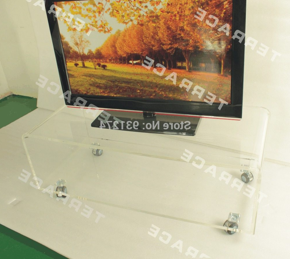 Clear Acrylic Tv Stands In 2017 Online Shop One Lux 2016 New Acrylic Tv Stand Table, Lucite Couch (Gallery 15 of 20)