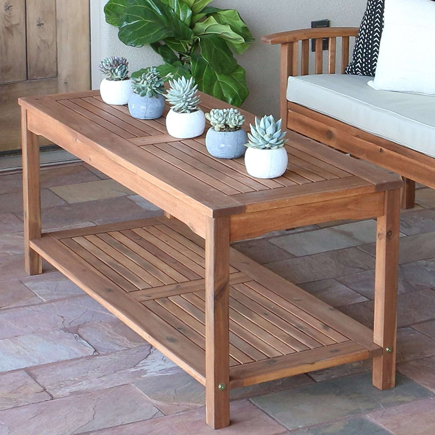 Coffee Tables Ideas Throughout Parsons Concrete Top & Dark Steel Base 48X16 Console Tables (Gallery 4 of 20)