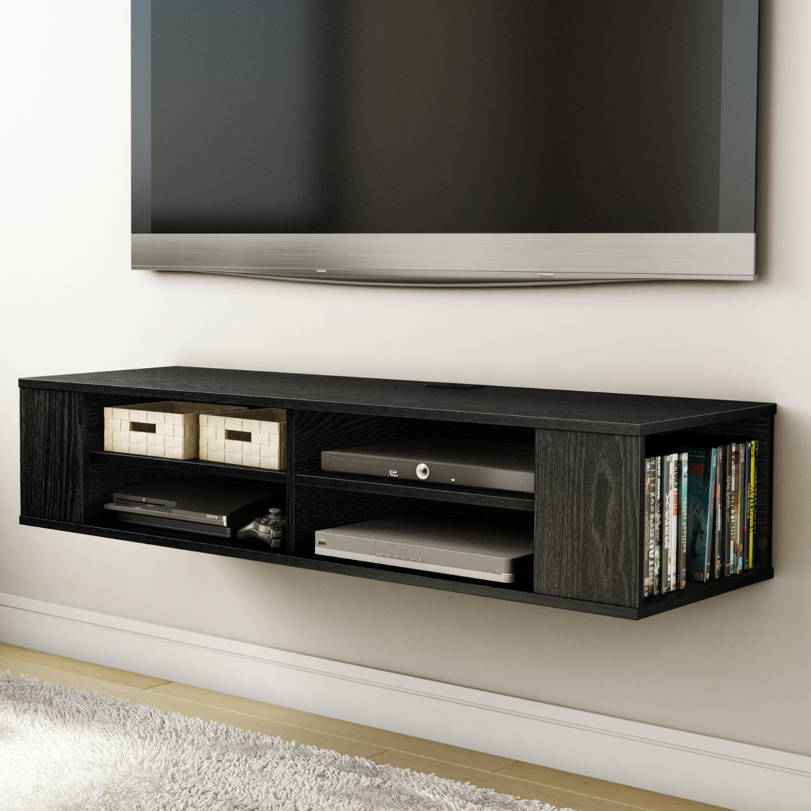 Console Tables Under Wall Mounted Tv Throughout Best And Newest Furniture For Under Mounted Tv (View 10 of 20)