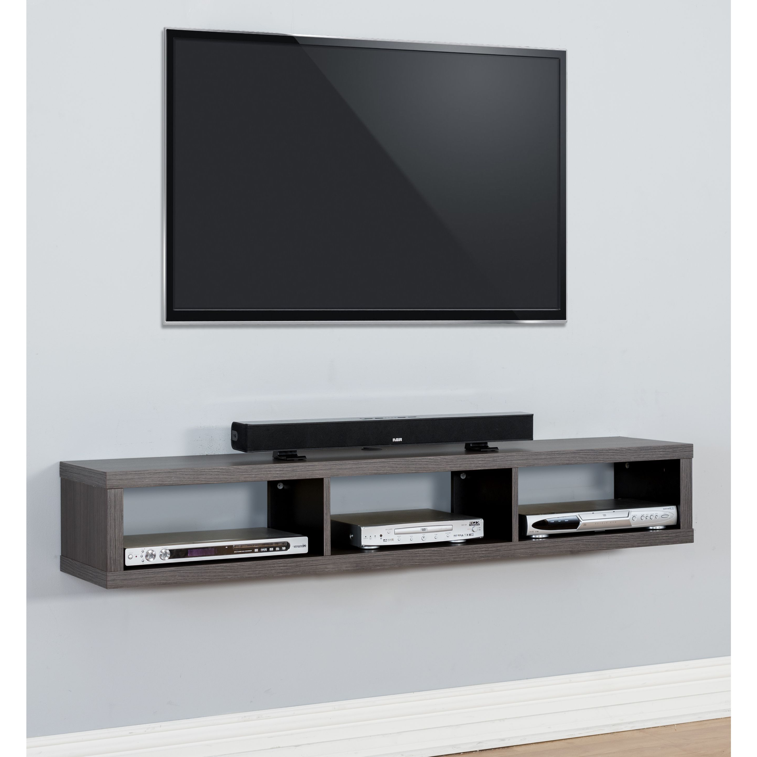 Console Tables Under Wall Mounted Tv Throughout Current The Functional And Upscale Appearance Of This Wall Mounted Tv (View 18 of 20)