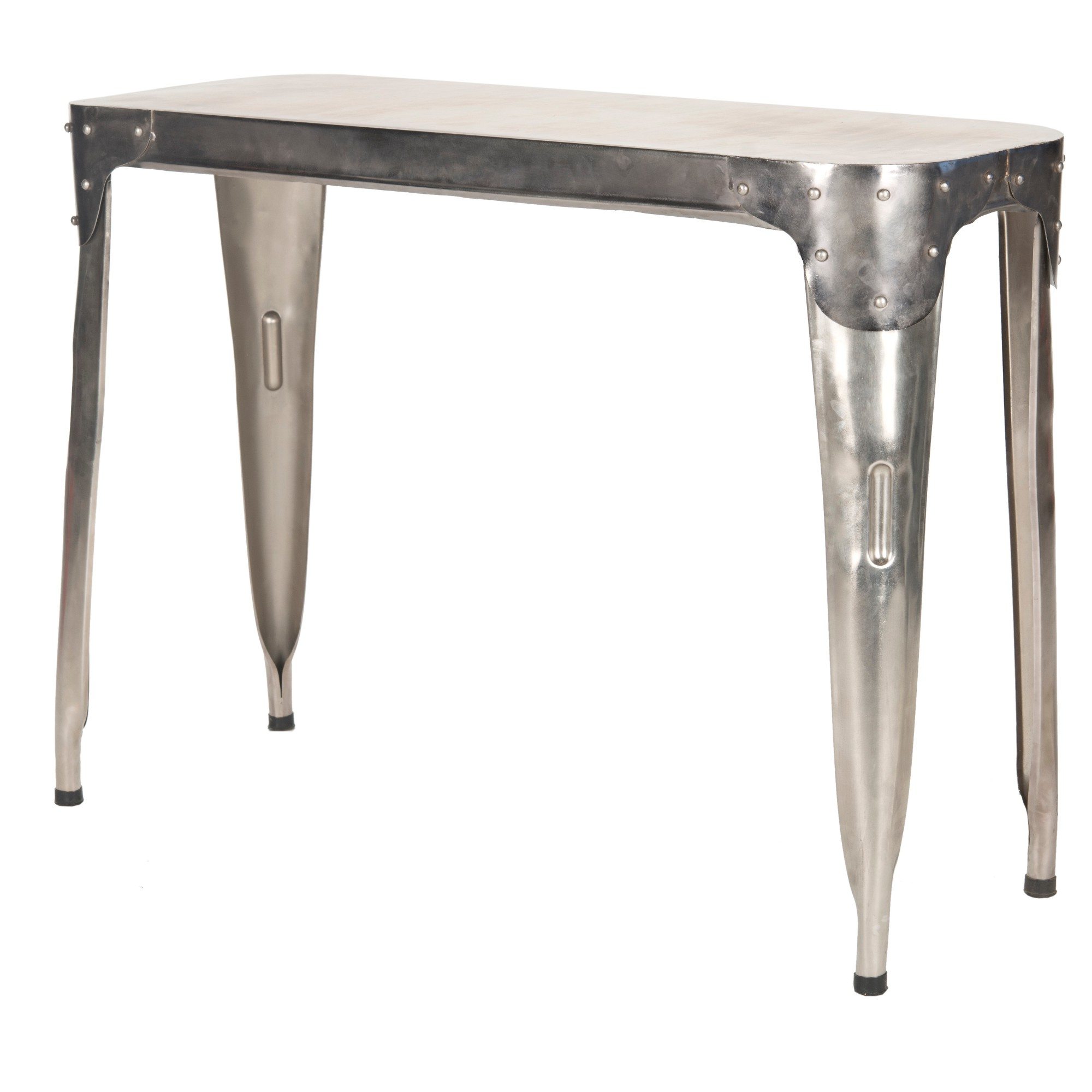 Console Throughout Parsons Grey Marble Top & Dark Steel Base 48X16 Console Tables (View 3 of 20)