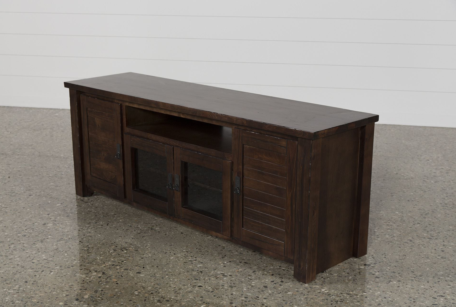 Consoles And Tv Stands Regarding Canyon 74 Inch Tv Stands (View 8 of 20)