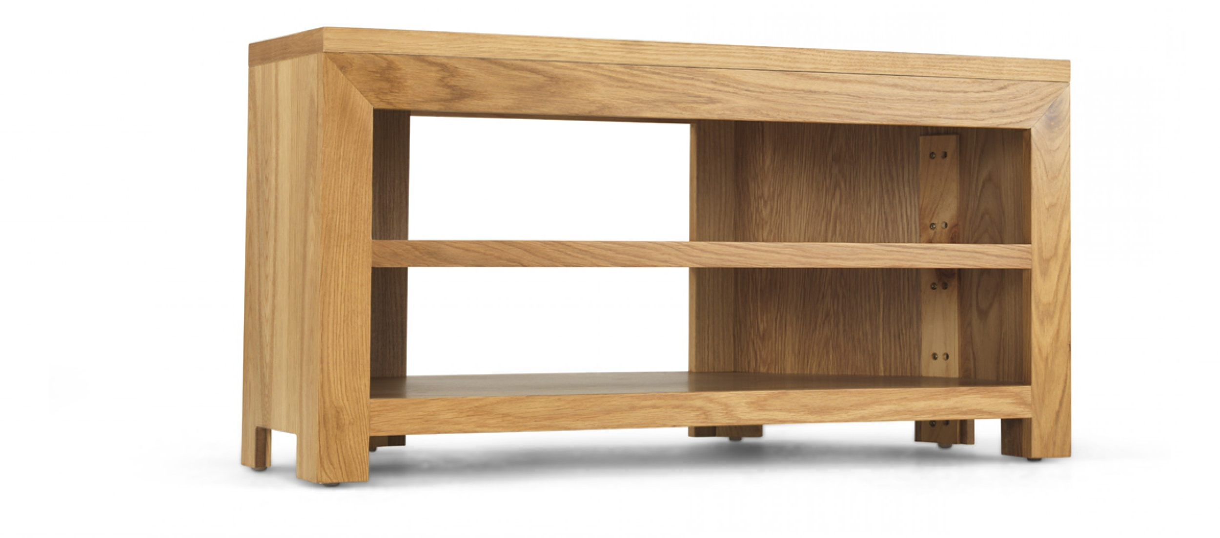 Contemporary Oak Tv Stands Inside Most Recent Cube Oak Open Corner Tv Unit (View 2 of 20)