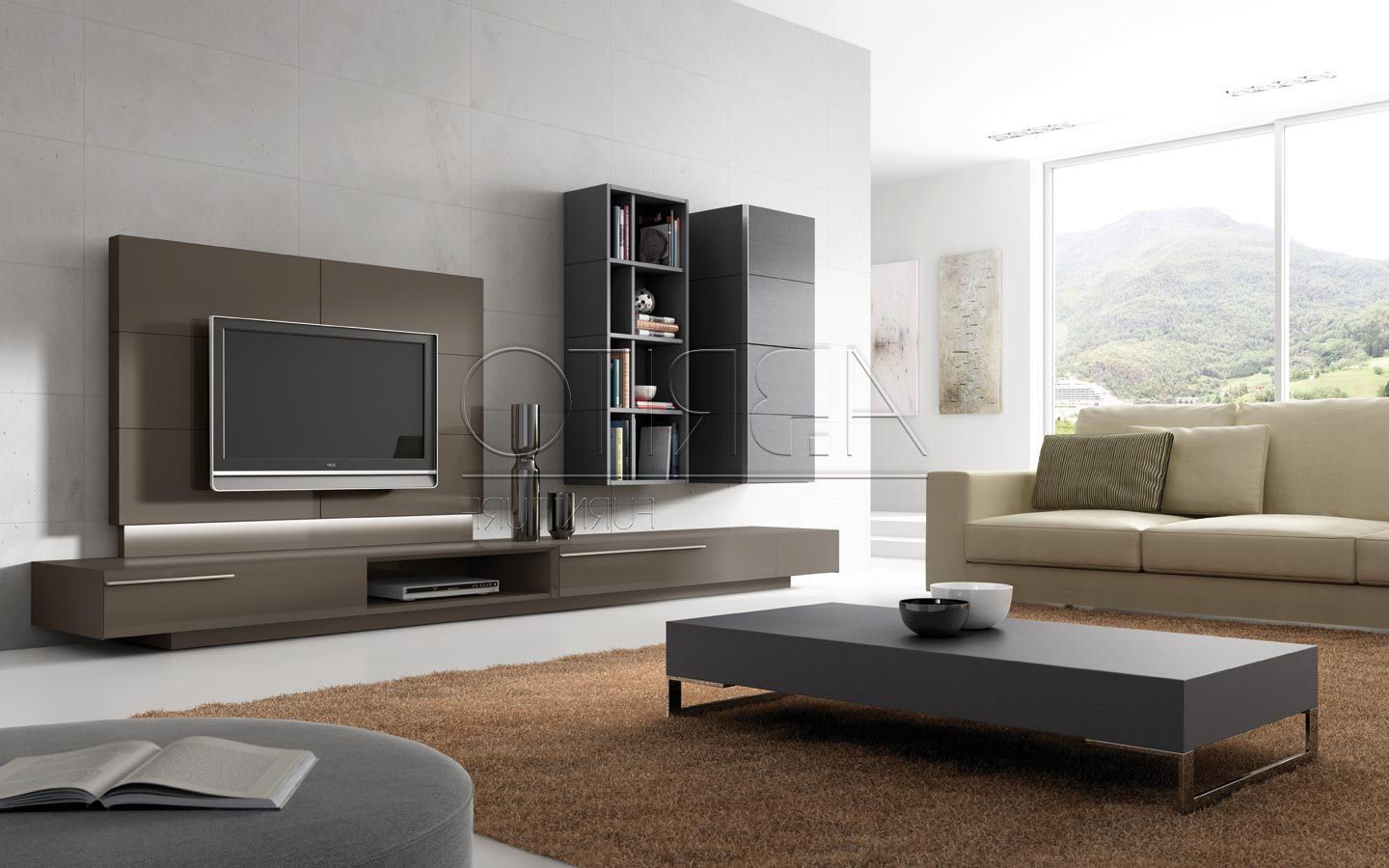 Contemporary Tv Wall Units For Trendy Contemporary Tv Wall Units – Google Search (View 2 of 20)