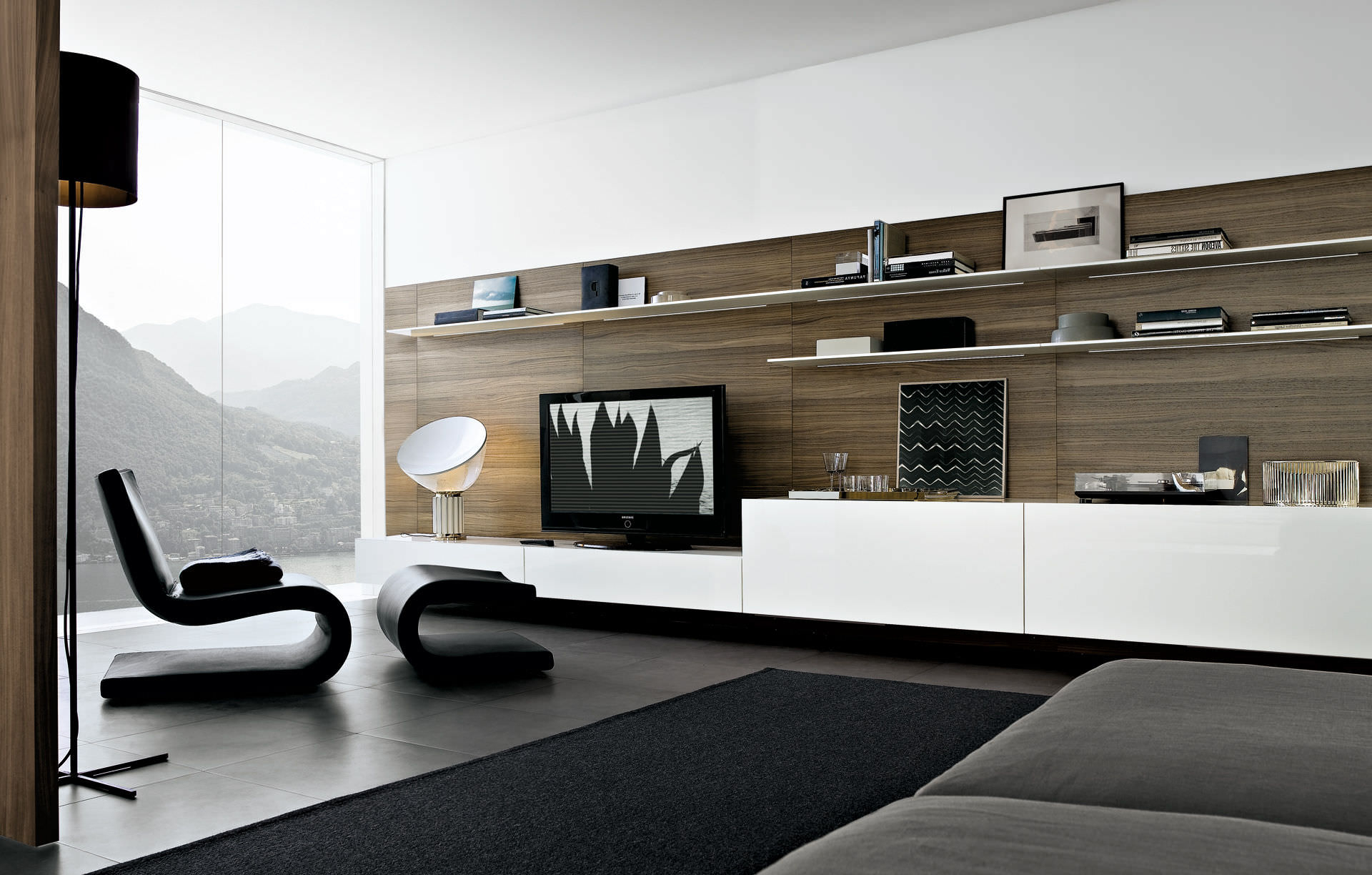 Contemporary Tv Wall Units Within Most Recent Contemporary Flat Tv Wall Units — All Contemporary Design : Modern (Gallery 4 of 20)