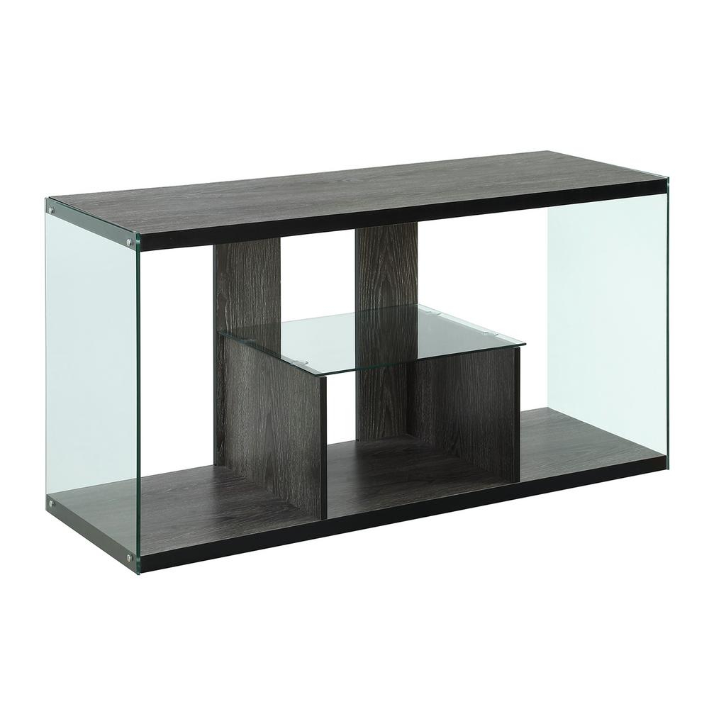 Convenience Concepts Soho Weathered Gray Tv Stand R4 0193 – The Home Within 2017 Soho Tv Cabinets (Gallery 18 of 20)