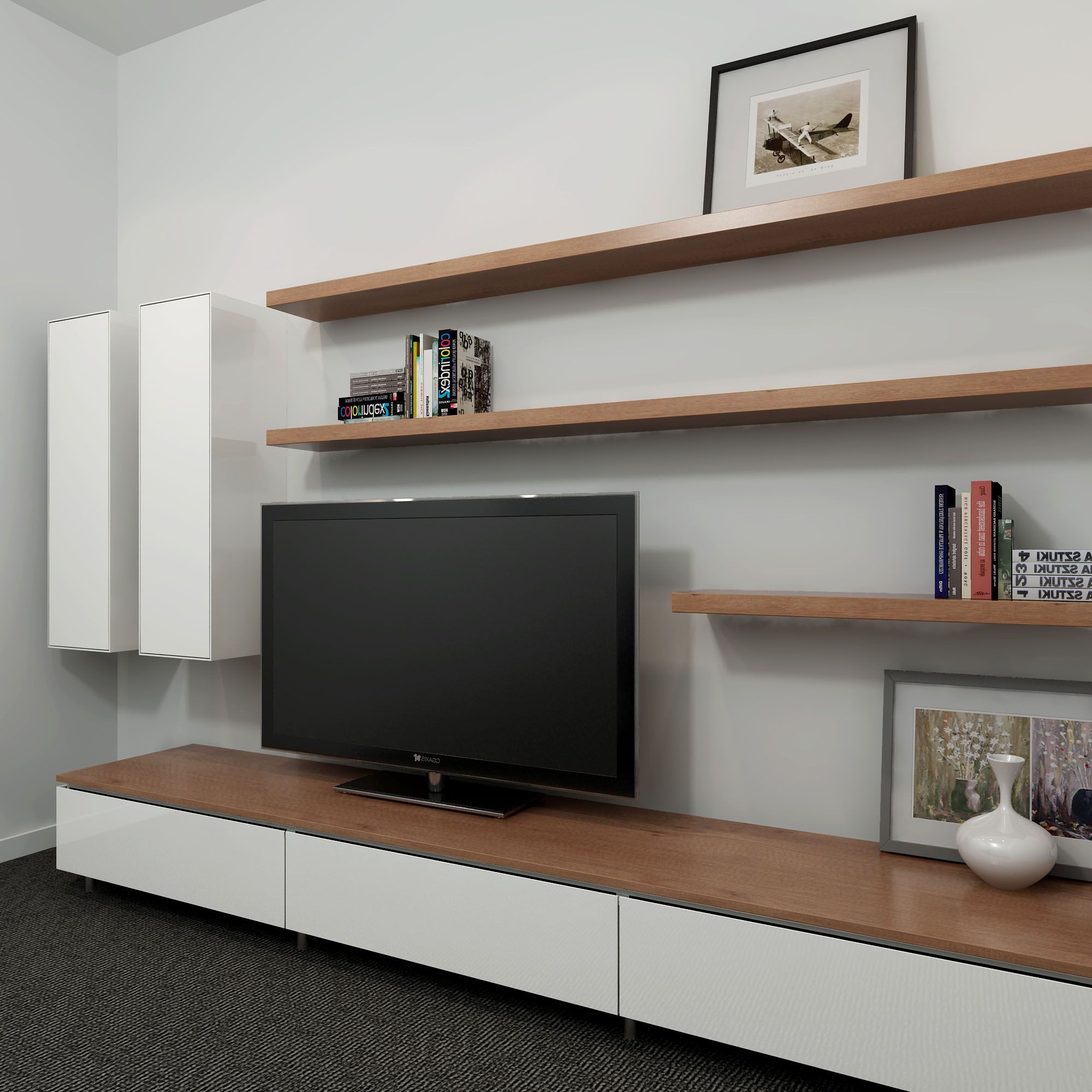 Cool Tv Stands Pertaining To Most Current 19 Amazing Diy Tv Stand Ideas You Can Build Right Now (View 11 of 20)