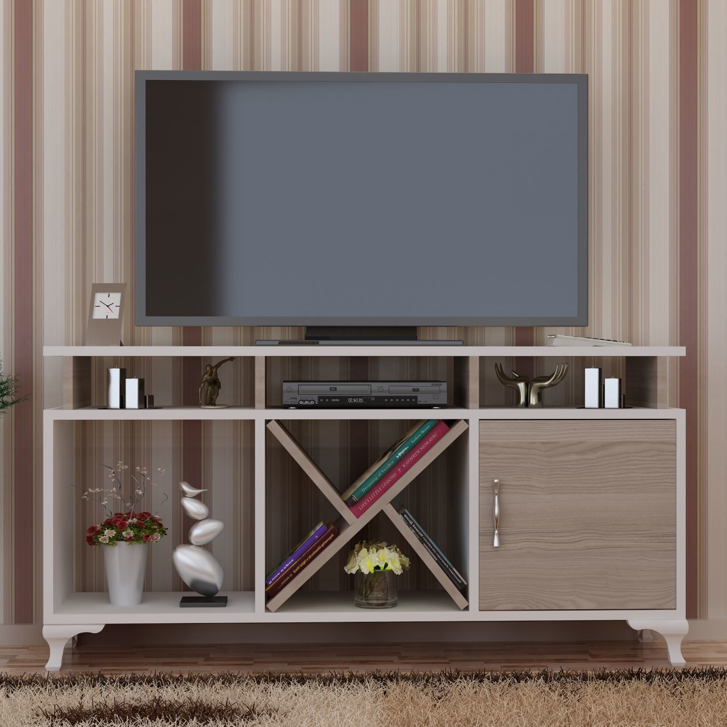 "Cordoba Tv Stands Within Most Up To Date Tv Stands & Entertainment Centers Morrisey 47"" Tv Stand February 2019 (Gallery 12 of 20)"