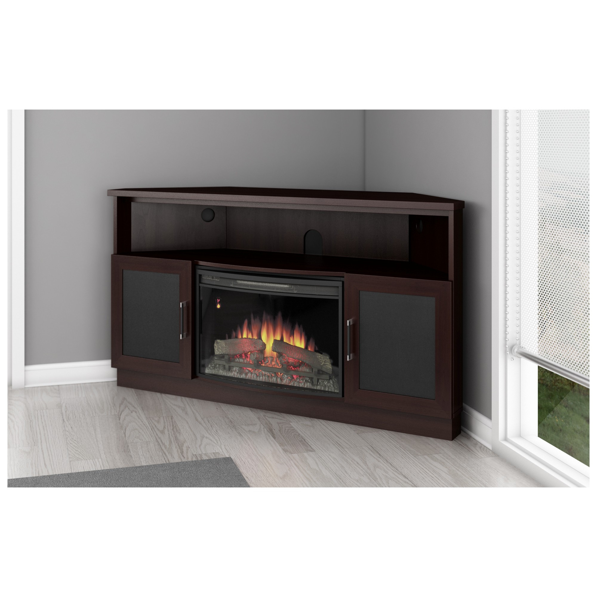 Corner 60 Inch Tv Stands Throughout Trendy Corner Fireplace Tv Stand For 60 Inch Tv – Getproductsofic (View 4 of 20)