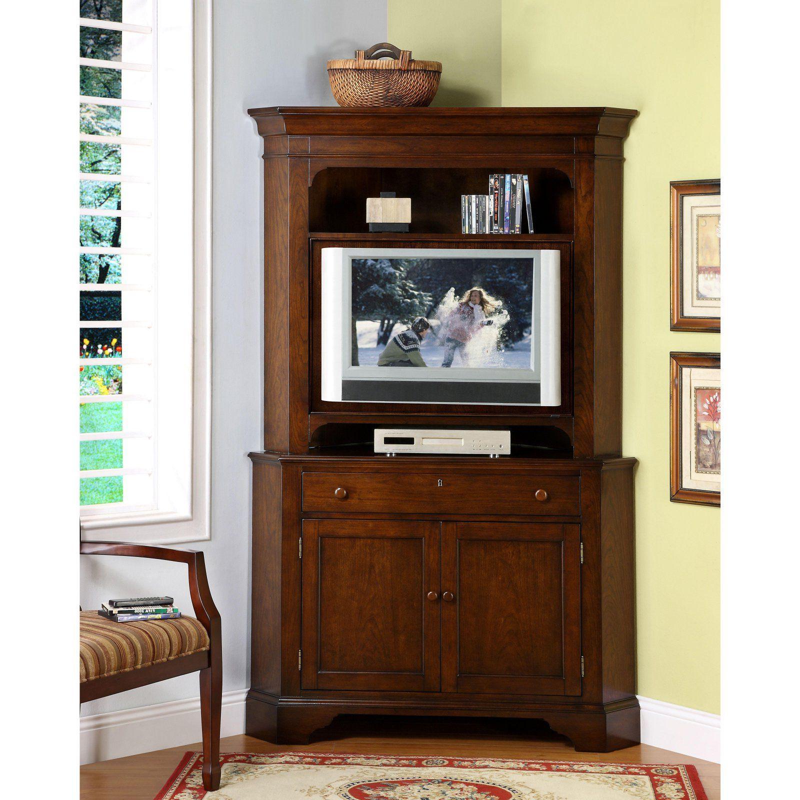 Corner Tv Armoire (Gallery 3 of 20)