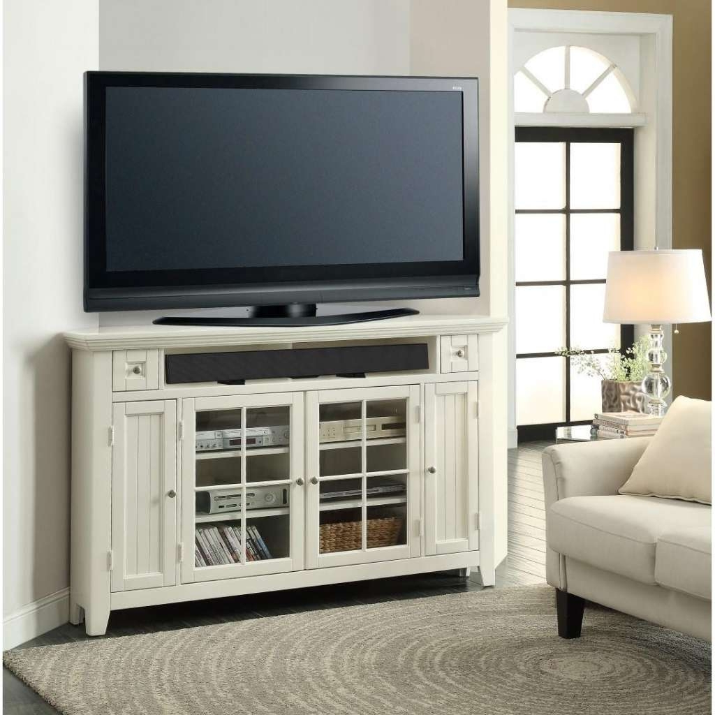 Corner Tv Stands For 55 Inch Tv Regarding Current Make A Cute Corner With A Small Corner Tv Stand – Furnish Ideas (Gallery 1 of 20)