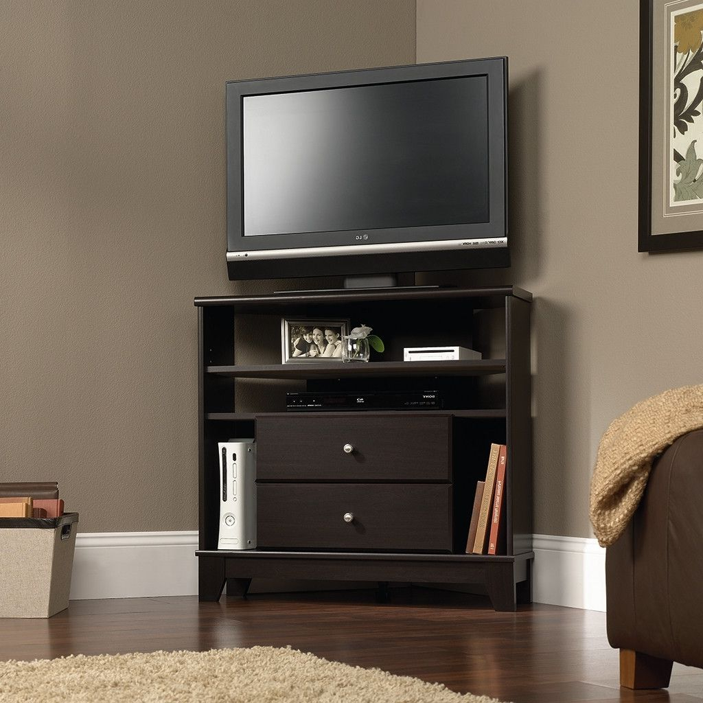 Corner Tv Stands, Wall Mounted Pertaining To Most Popular Corner Tv Cabinets With Hutch (Gallery 6 of 20)