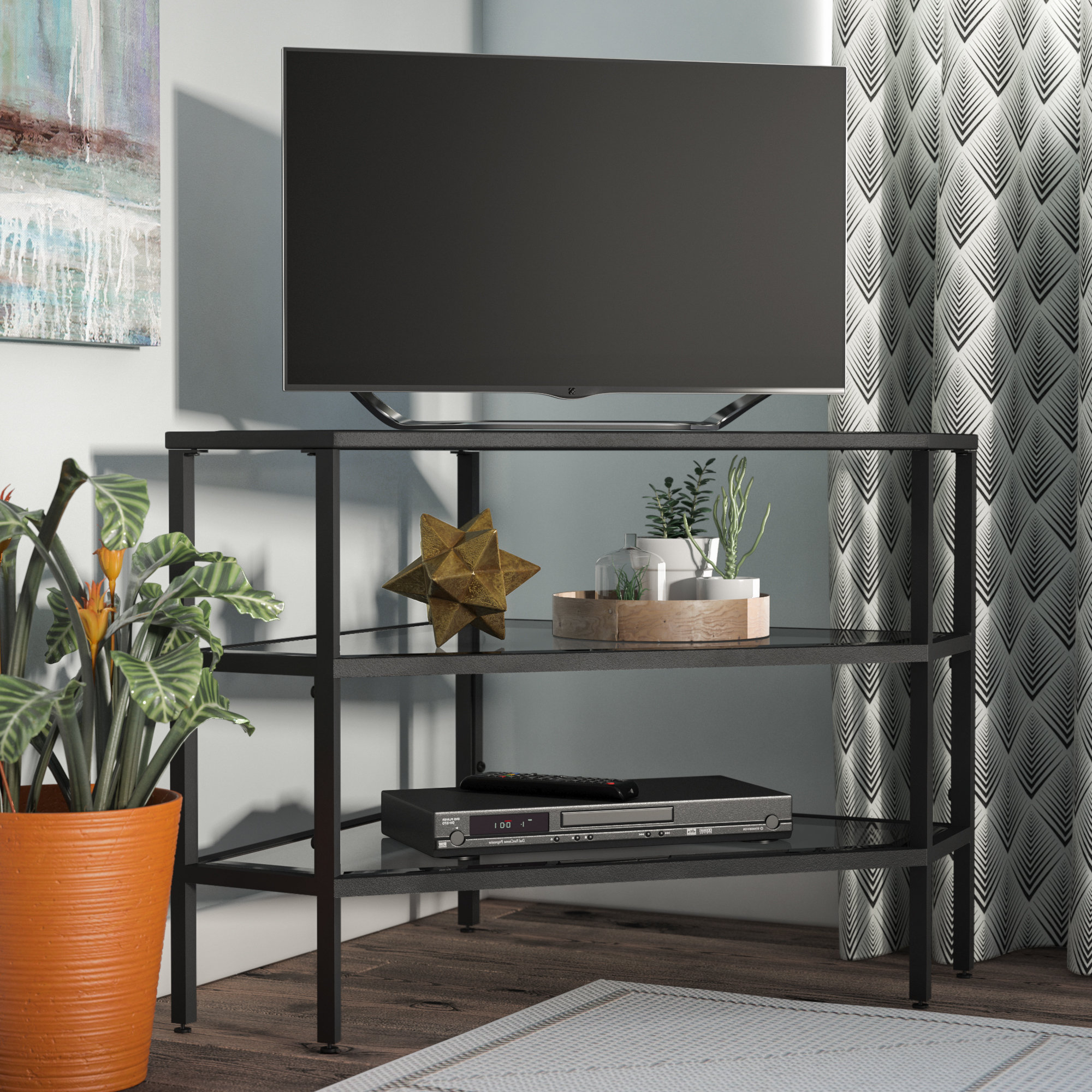 Corner Tv Stands You'll Love With 2018 Corner Tv Stands For 60 Inch Flat Screens (Gallery 10 of 20)