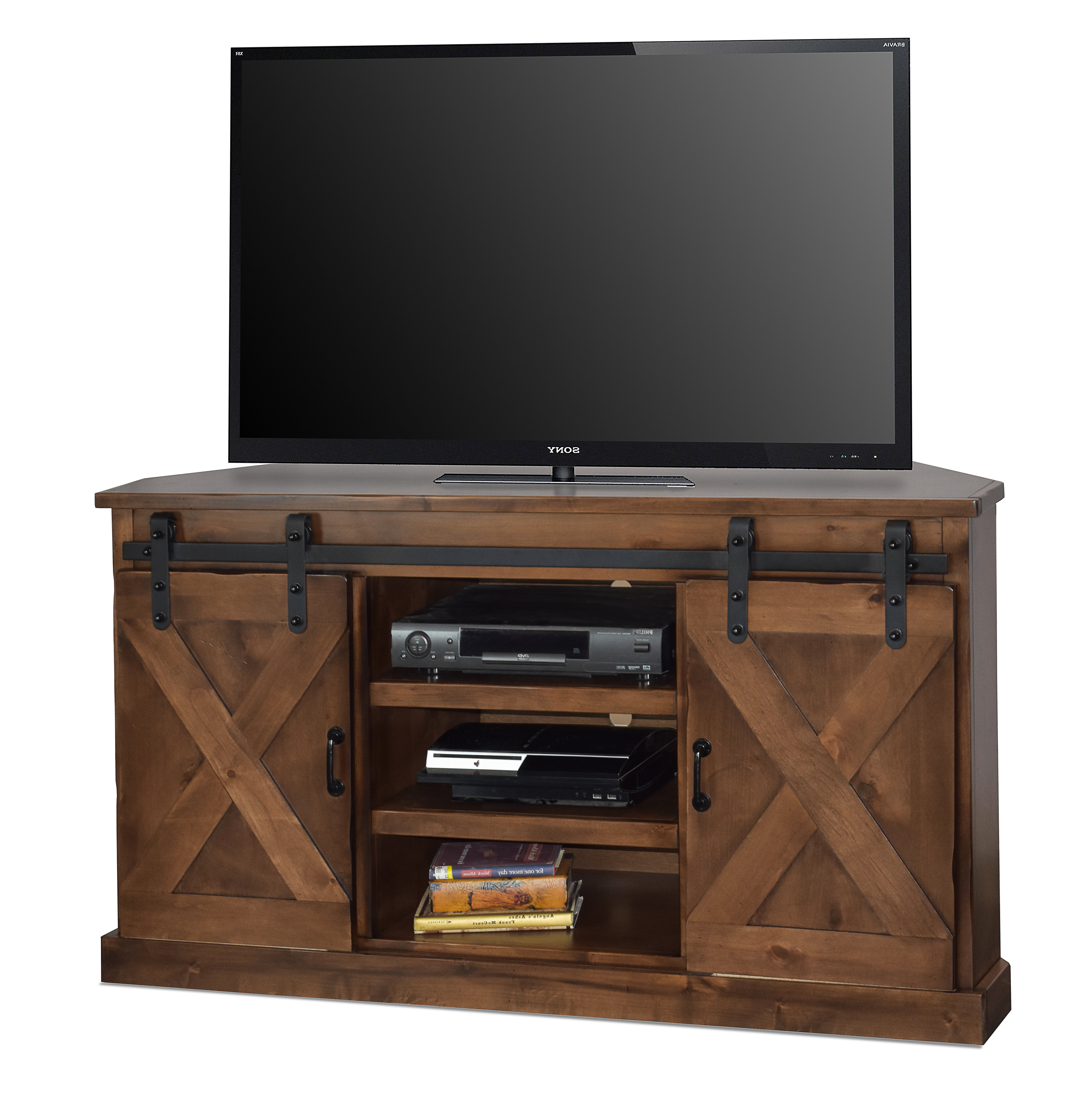 Corner Wooden Tv Cabinets Pertaining To Most Recent Corner Tv Stands You'll Love (View 7 of 20)