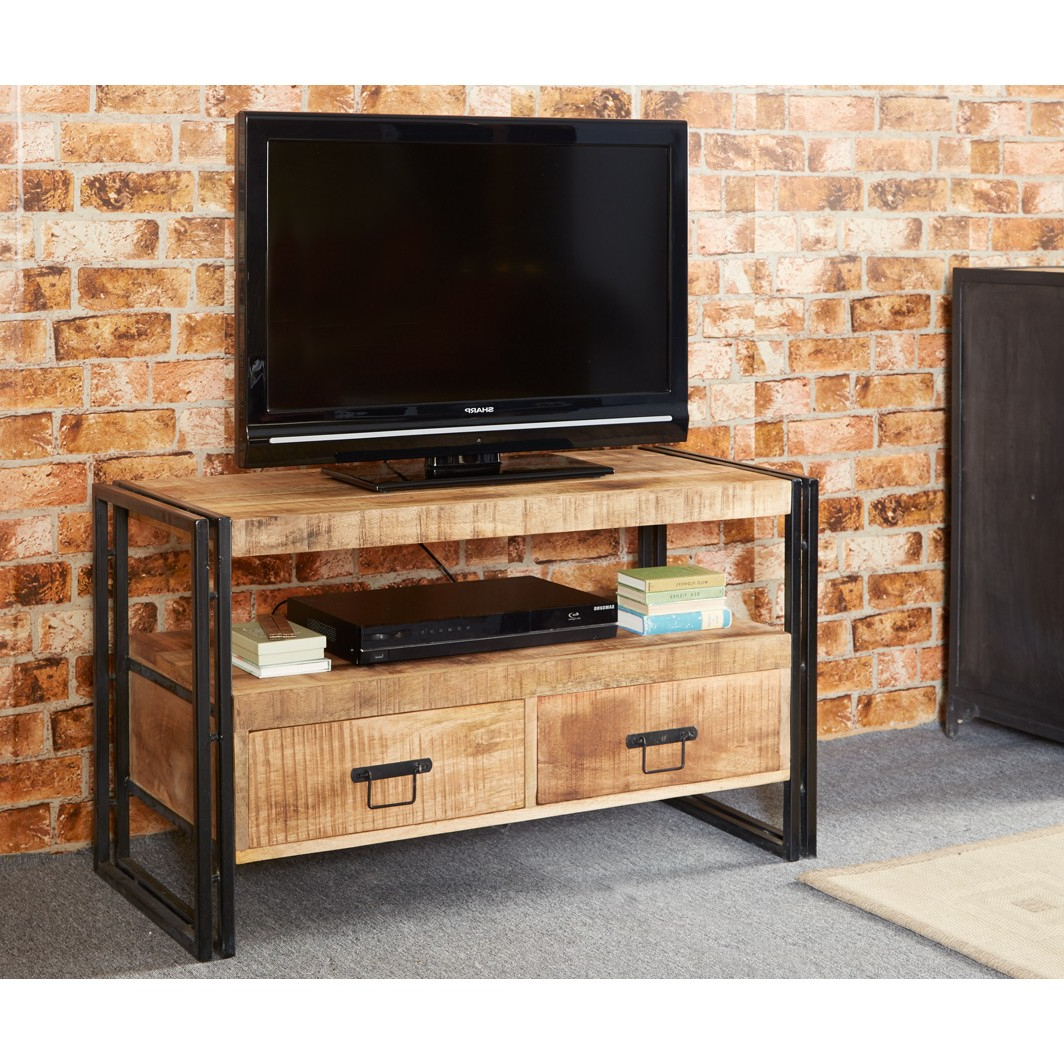 Cosmo Industrial Tv Stand Throughout Recent Industrial Tv Stands (View 4 of 20)