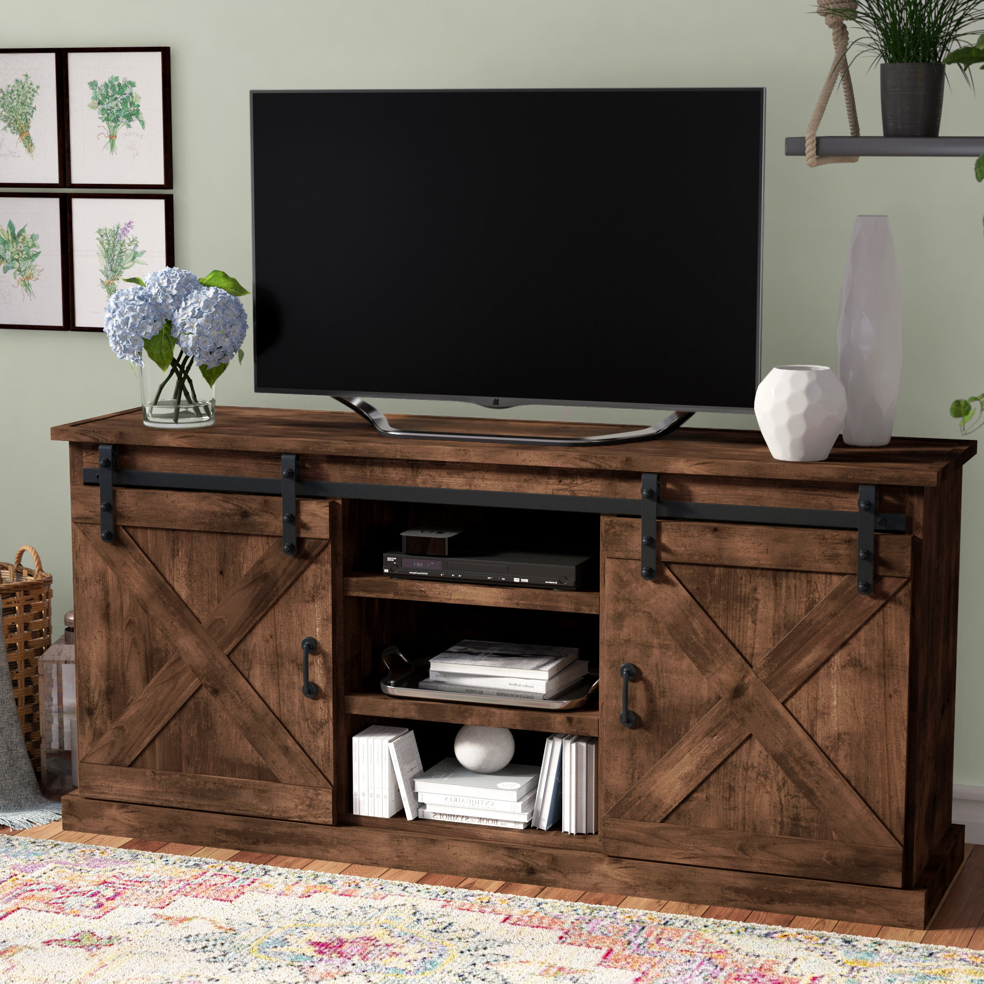 Cottage & Country Tv Stands You'll Love (View 10 of 20)