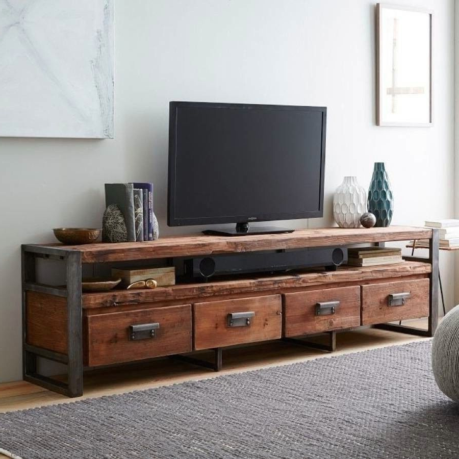 Country Style Tv Stands For 2017 Vintage American Country To Do The Old Wood Tv Cabinet Loft Tv (Gallery 20 of 20)