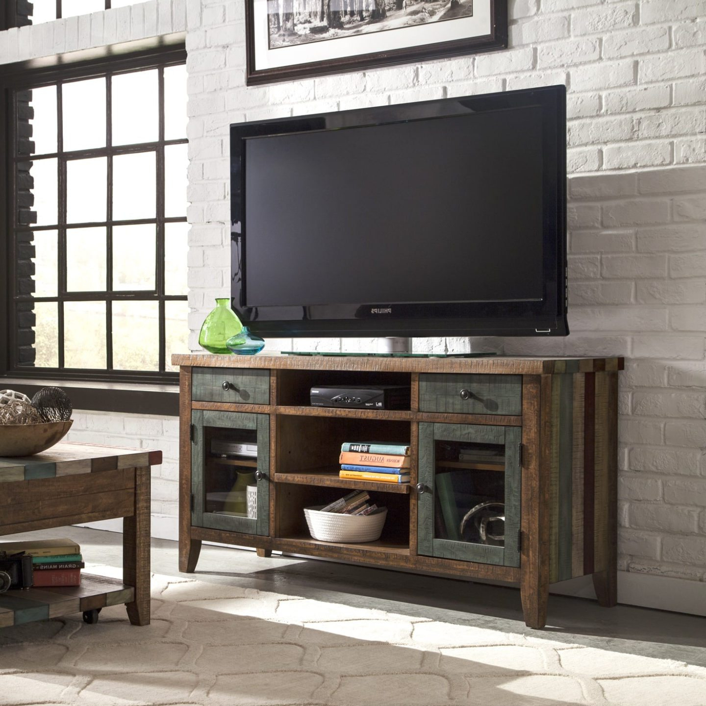 Cream Color Tv Stands Intended For Most Up To Date 6 Tips For Buying A Great Tv Stand For Your Home – Overstock (Gallery 20 of 20)