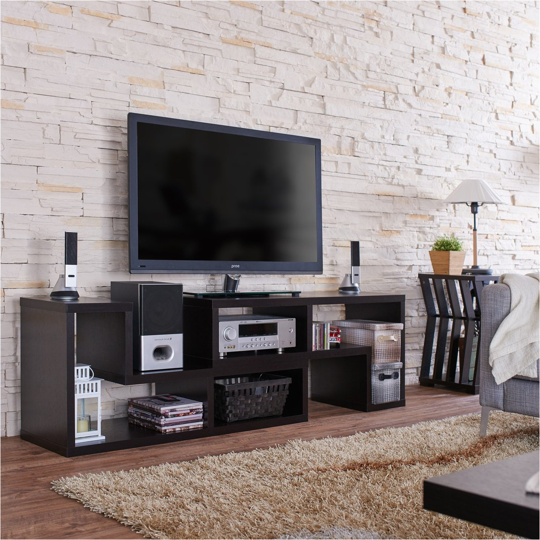 Current 24 Inch Wide Tv Stands Pertaining To 48 Inch Tv Stand Modular Contemporary Dislay Ndash 24 7 Shop At Home (View 7 of 20)