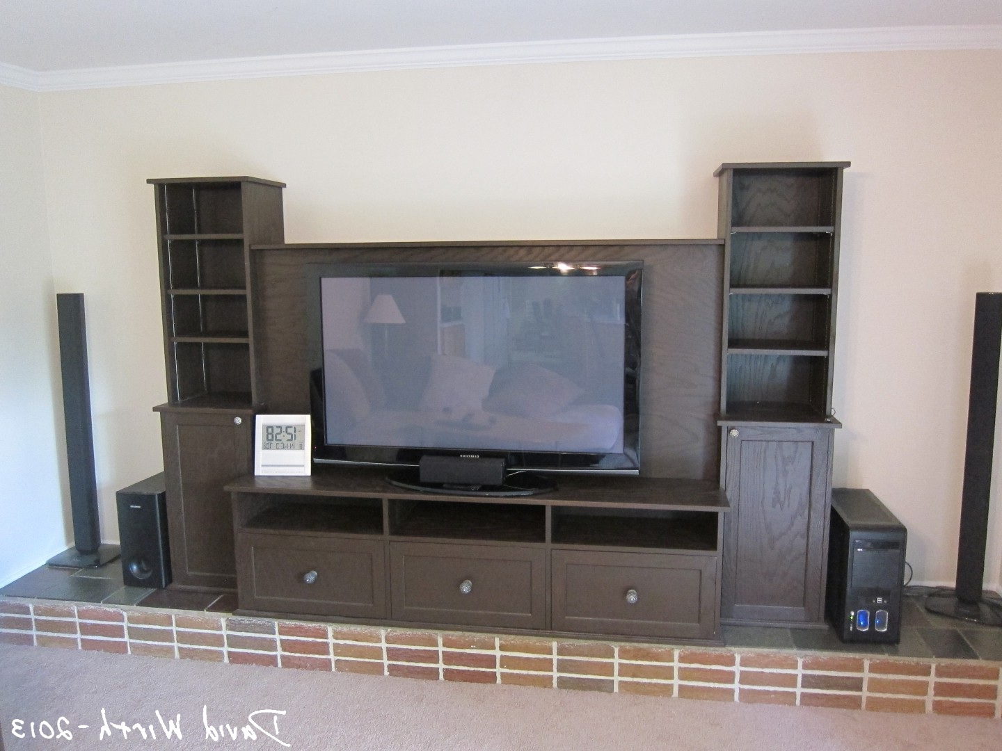 Current Big Tv Cabinets Within Big Tv Stands Sandy Screen Store Lots With Fireplaces Furniture (View 4 of 20)