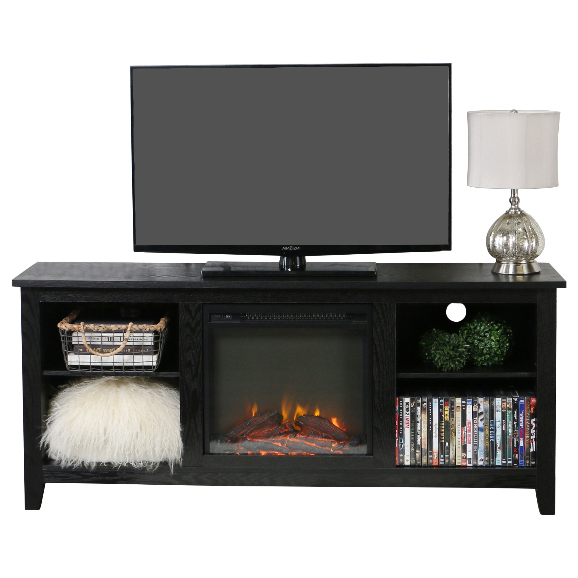 Current Bjs Tv Stands Throughout Tv Stand With Fireplace Bjs: Best Ideas About Black Fireplace On (View 10 of 20)