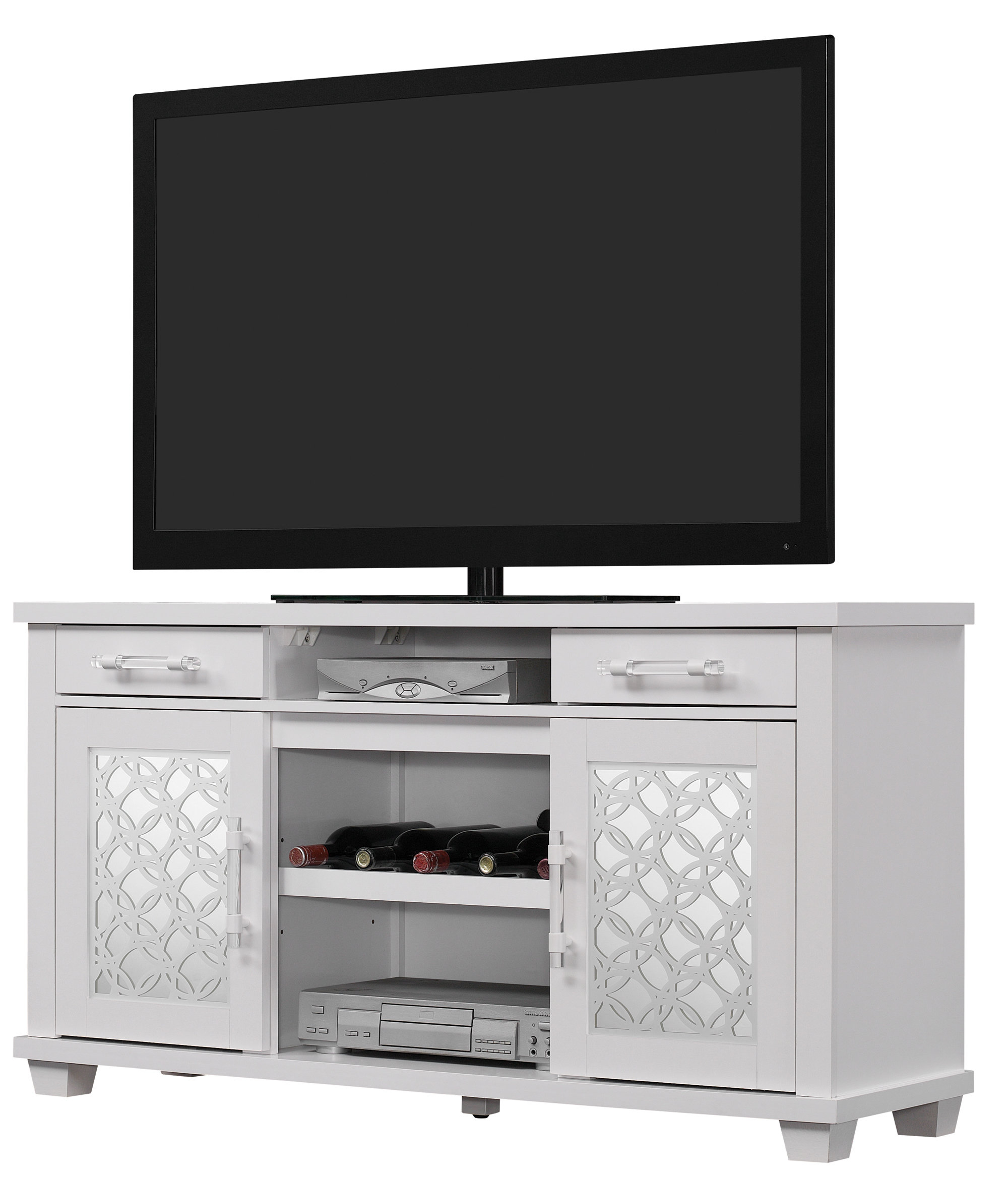 Current Caden 63 Inch Tv Stands Inside Ophelia & Co (View 5 of 20)