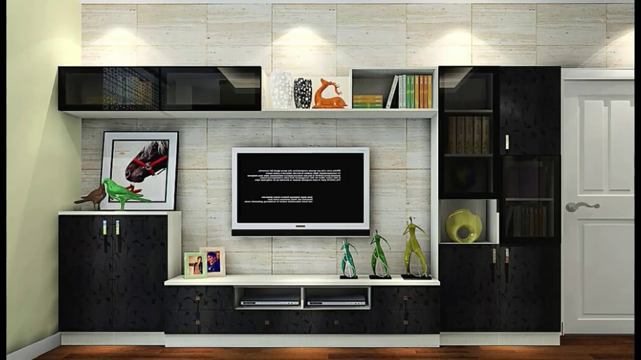 Current Long Tv Cabinets Furniture In New Modern Furniture Tv Cabinet 2018 19 – Youtube (View 2 of 20)