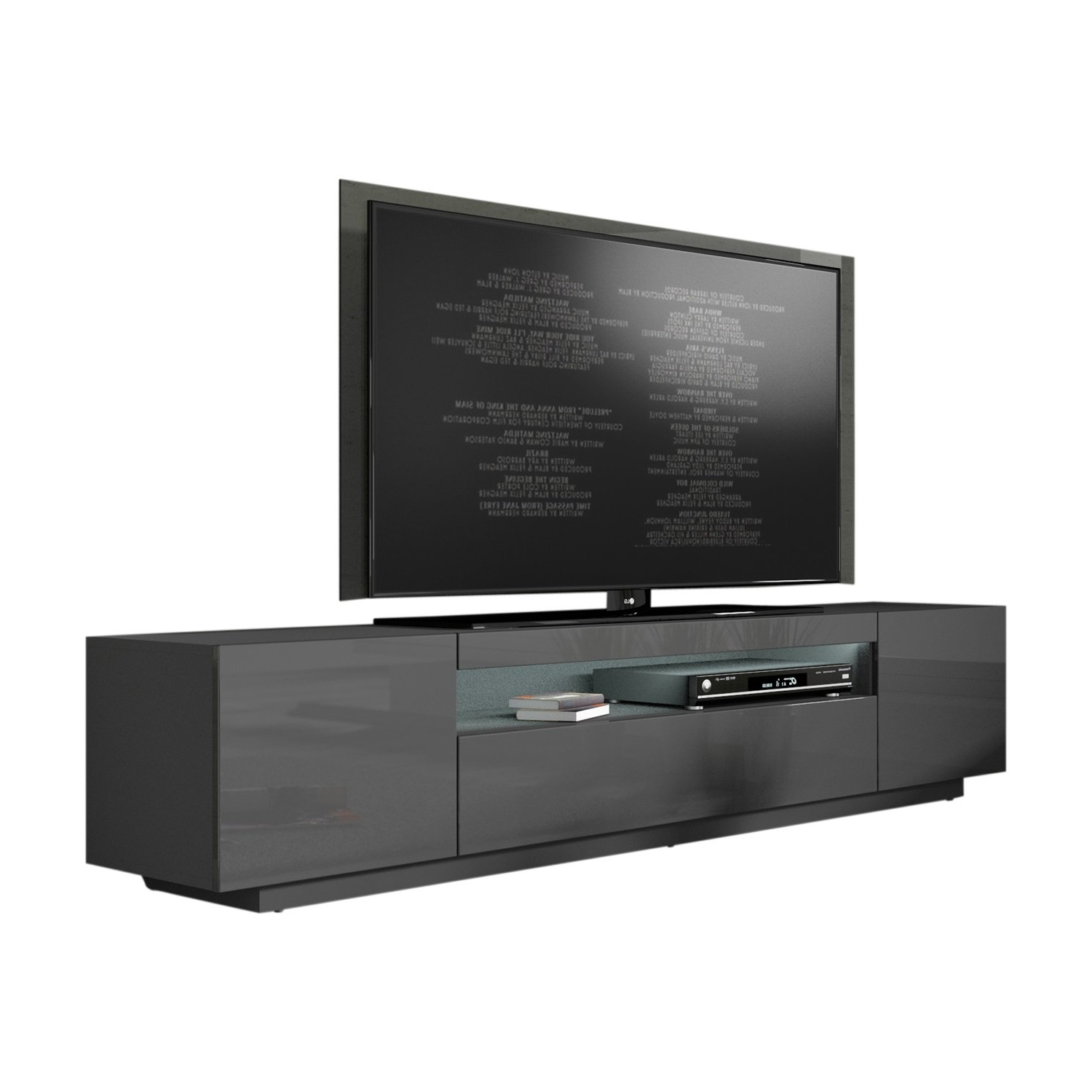 Current Modern Grey Tv Stands (View 1 of 20)