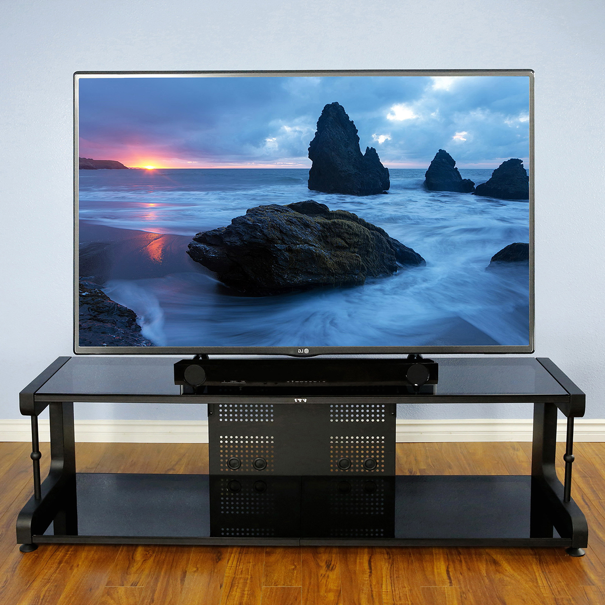 Current Noah Rustic White 66 Inch Tv Stands For Awesome Selection Of Tv Stands (View 4 of 20)