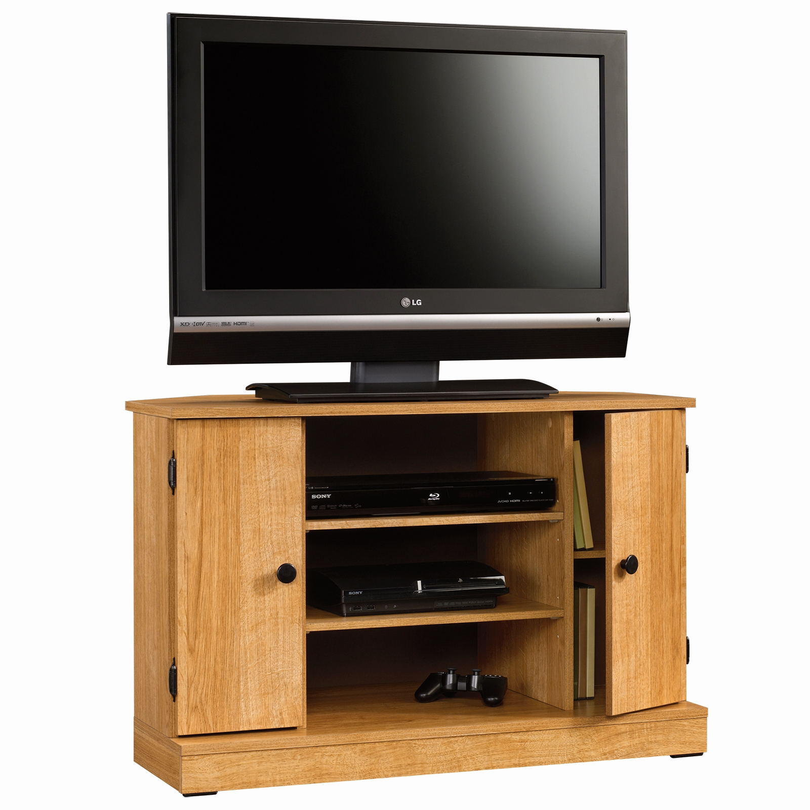 Current Oak Tv Stands For 55 Inch Awesome 20 Best Collection Of Wooden Throughout Wooden Tv Stands For 55 Inch Flat Screen (View 19 of 20)
