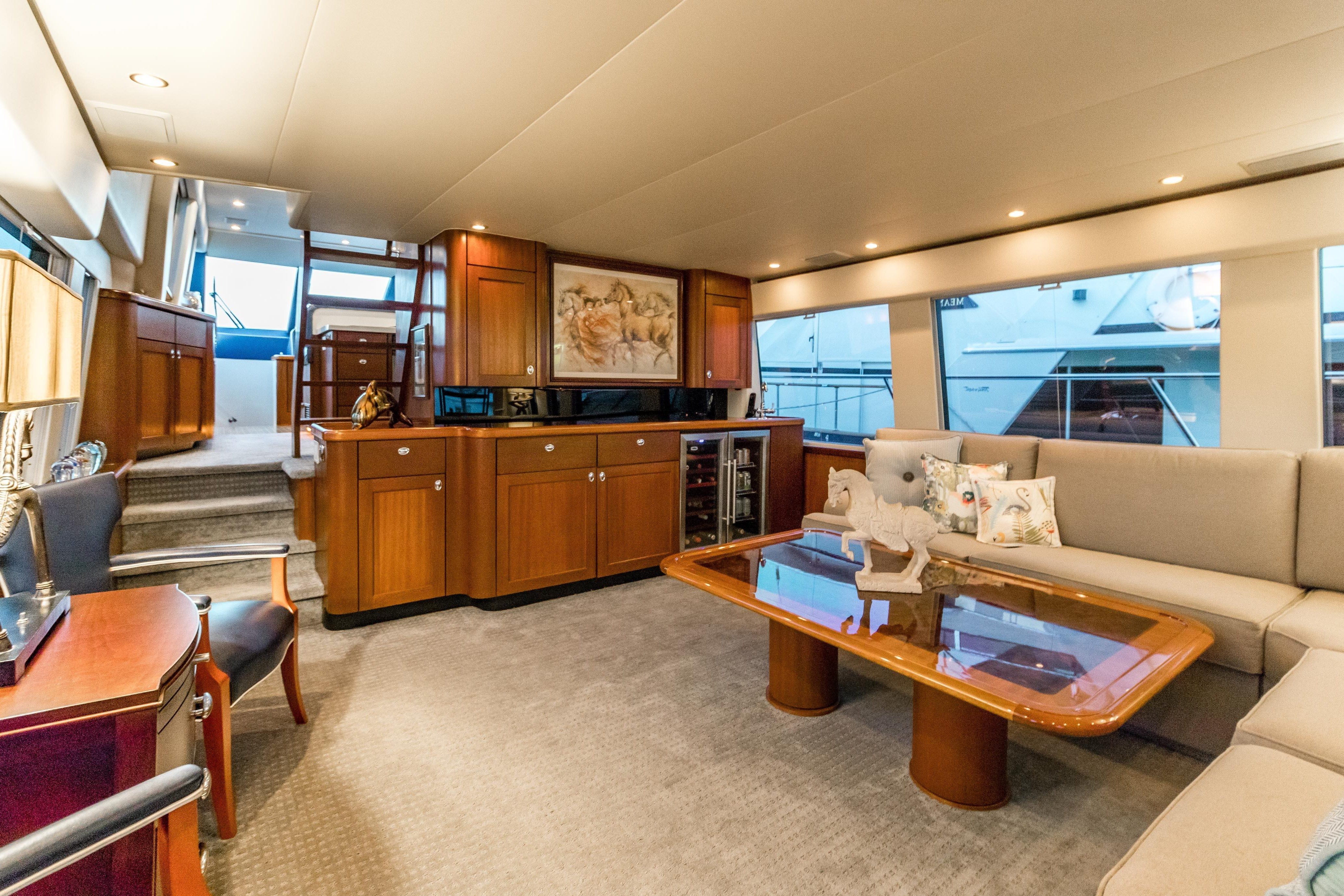 Current Searenity Pacific Mariner 2003 65 Motoryacht 65 Yacht For Sale In Us In Mikelson Media Console Tables (Gallery 12 of 20)