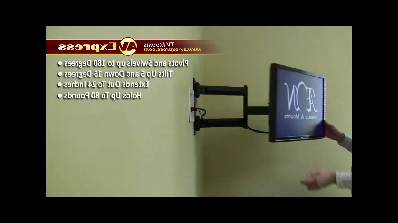 Current Swivel Lcd Tv Wall Mount Bracket (View 5 of 20)