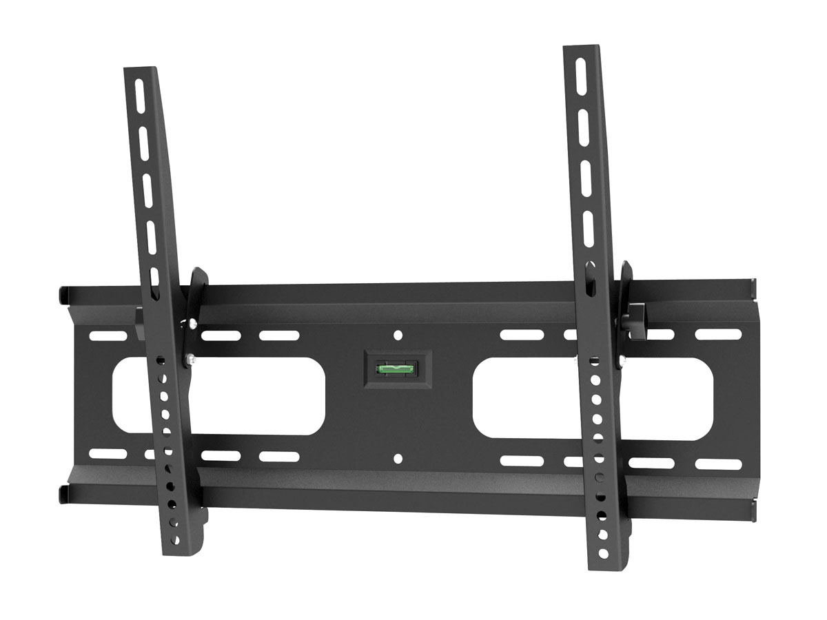 Current Tilted Wall Mount For Tv Pertaining To Monoprice Stable Series Tilt Tv Wall Mount Bracket For Tvs 37In To (Gallery 9 of 20)