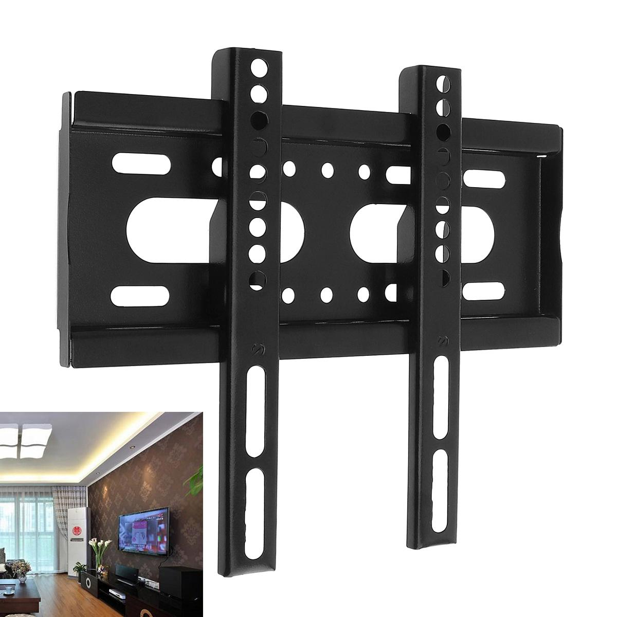 Current Universal 25Kg Tv Wall Mount Bracket Fixed Flat Panel Plasma Tv In Plasma Tv Holders (View 3 of 20)