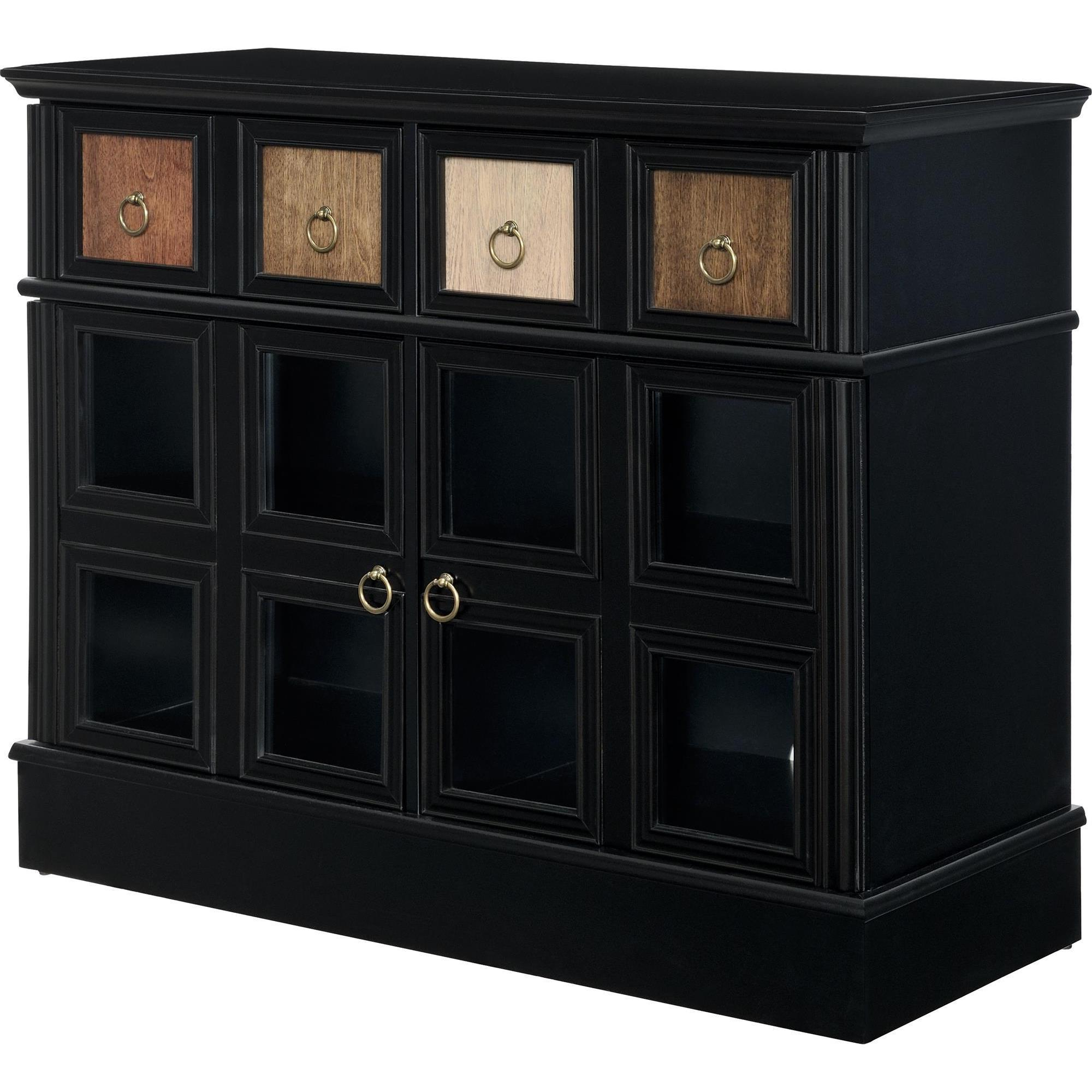 Current Wakefield 97 Inch Tv Stands Inside Shop Avenue Greene Wakefield Apothecary 42 Inch Black Tv Console (Gallery 20 of 20)