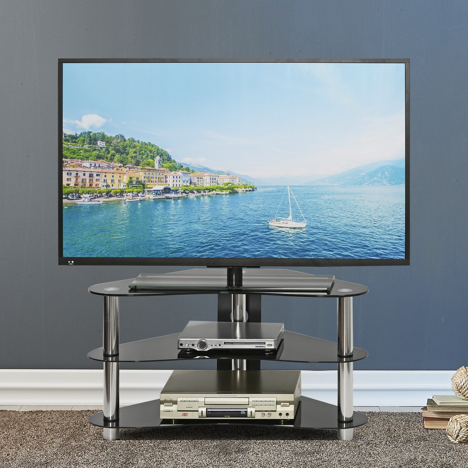 Current Www Furinno Altra Carson 50 Tv Stand Instructions Jaya For Up To Tvs For Tv Stands For Tube Tvs (View 9 of 20)
