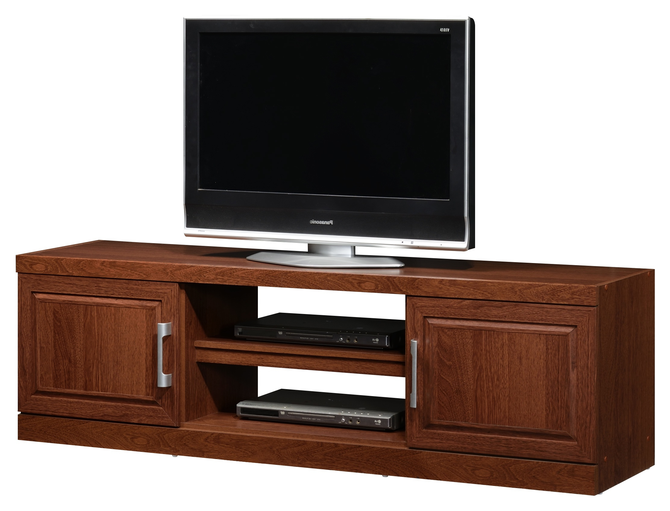 Current York Dual Dark Oak With Dark Wood Tv Cabinets (View 17 of 20)