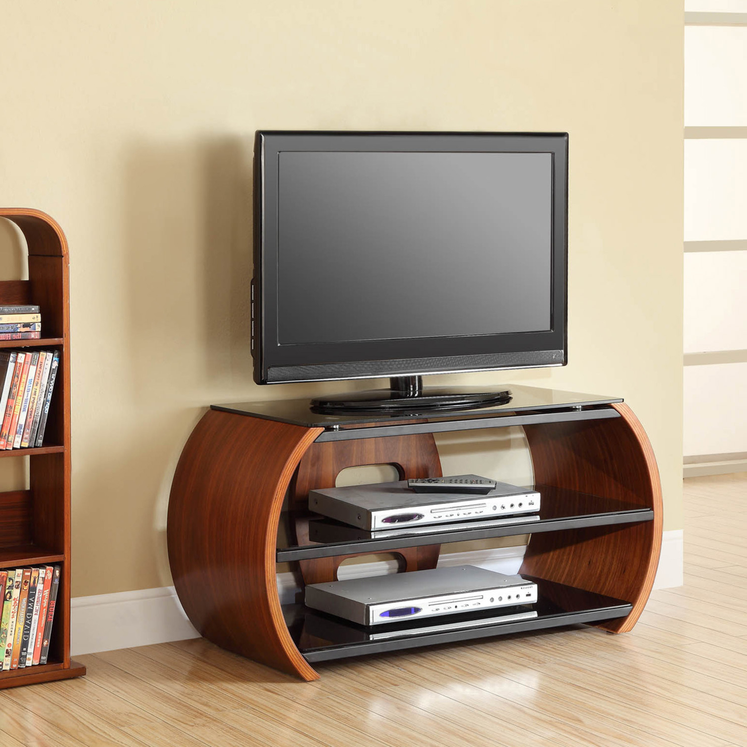 Curve Tv Stands With Best And Newest Curve Round Tv Stand (View 7 of 20)