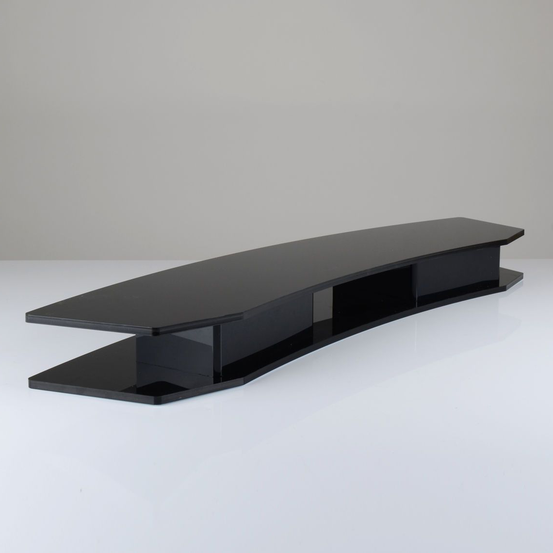 Curved Tv Riser Stand Regarding Best And Newest Tv Riser Stand (Gallery 16 of 20)