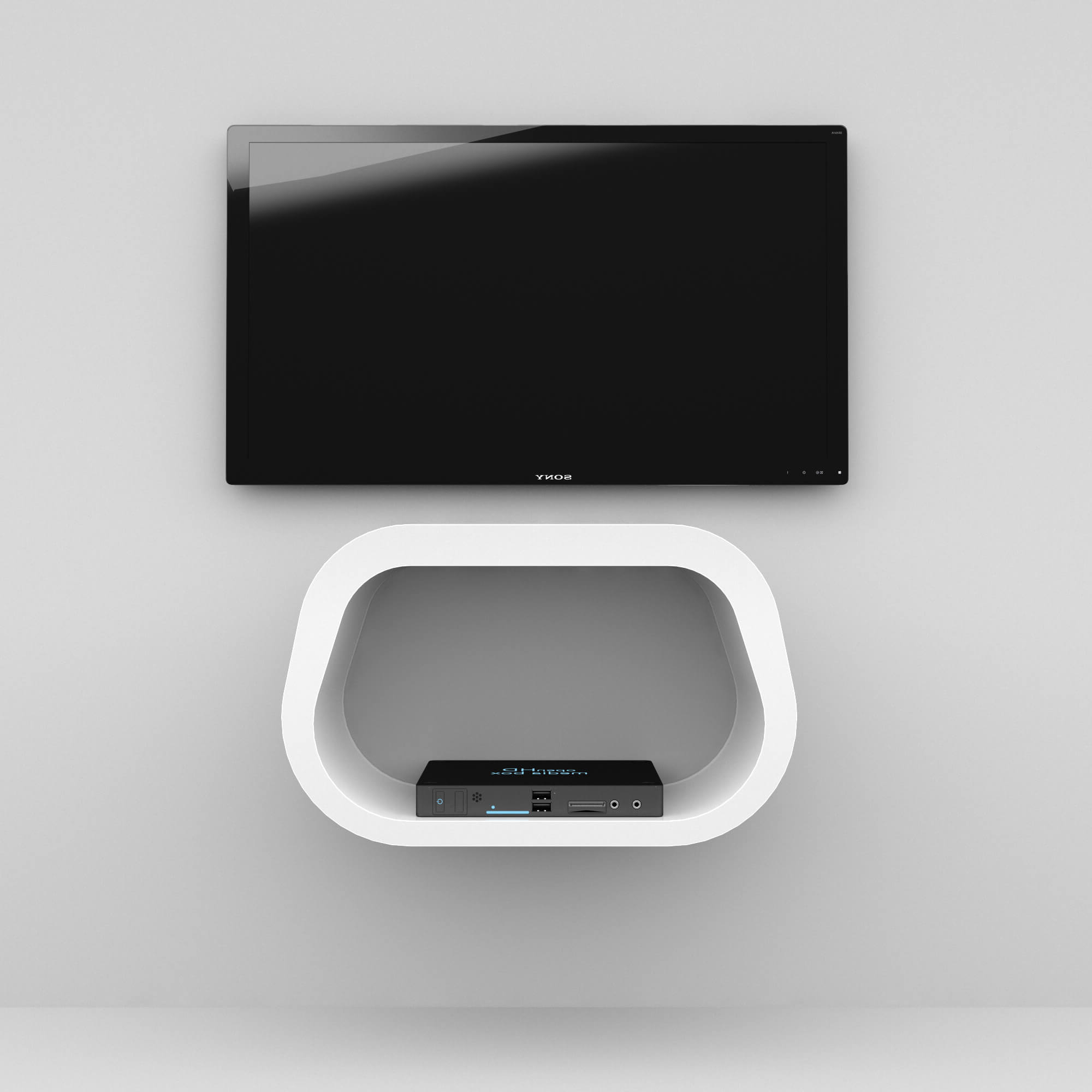 Custom Made Media Units – Zespoke With Square Tv Stands (Gallery 13 of 20)