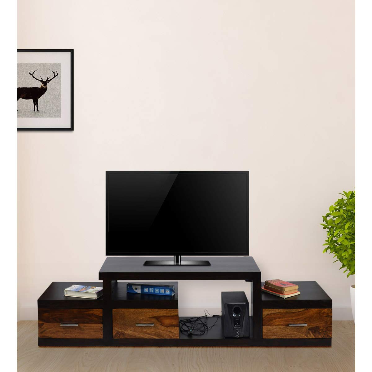 Daintree Tv Stands Intended For Best And Newest Daintree Sheesham Wood  (View 6 of 20)