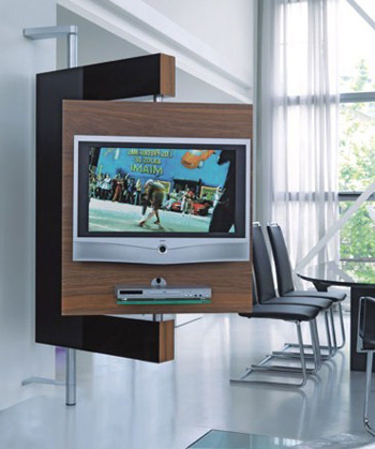 Diecollection's Media Stand Keeps Your Tv Upright And Doing The Intended For Preferred Upright Tv Stands (View 3 of 20)